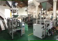 Stainless Steel Vertical Packaging Machine , Rice Packing Machine With Volumetric Cups