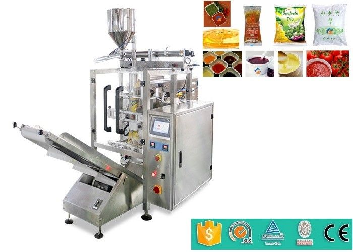 Molasses / Jam / Ice cube Filling And Packing Machine with Schneider Touch Screen