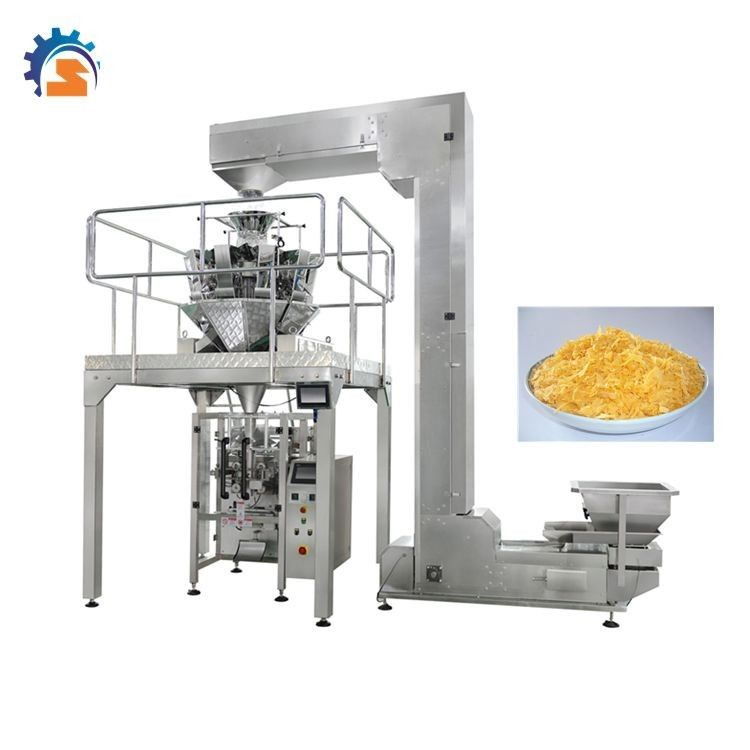 Machine à emballer automatique d'arachide de Chin Chin de riz de peseur de MultiHead fournisseur